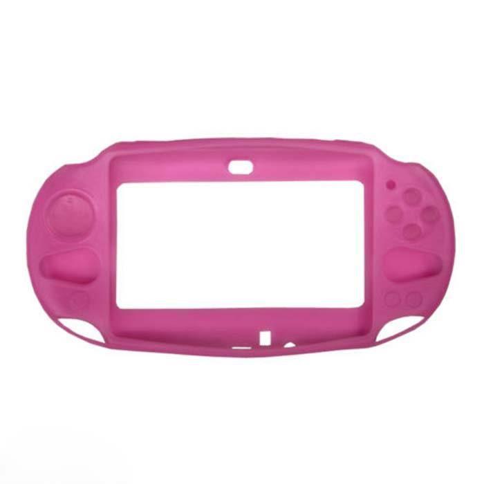 Protection peau de silicone souple Housse Etui pour Sony PS Vita PSV PCH-2000