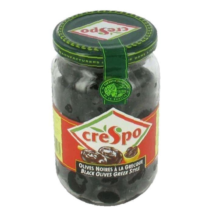 CRESPO Olive noire - Bocal de 37 cl