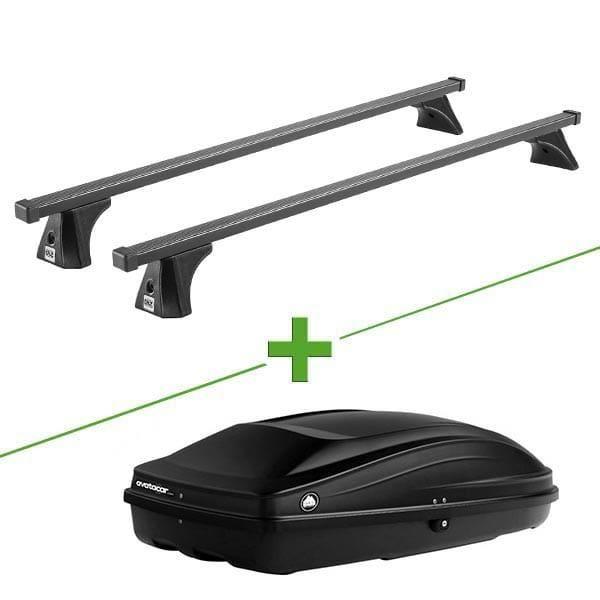 Pack barres et coffre de toit Cruz Oplus Fix + Wabb S pour Chevrolet Trax 5 portes - 3665597619171