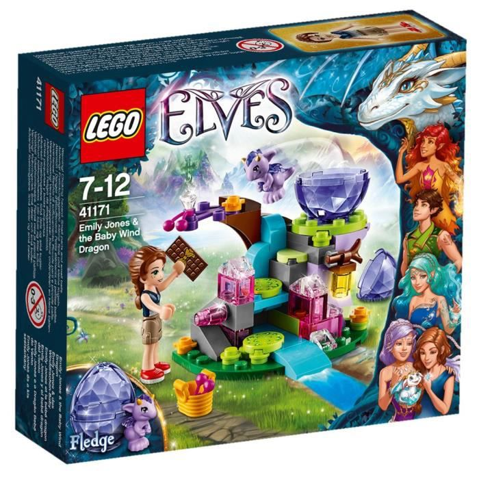 LEGO® Elves 41171 Emily Jones et le Bébé Dragon
