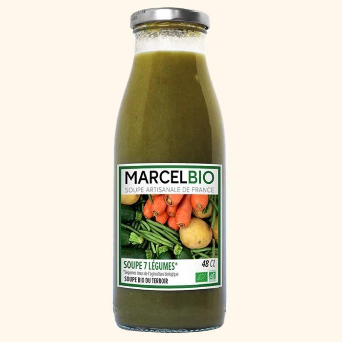 Soupe aux 7 légumes Bio 48cl