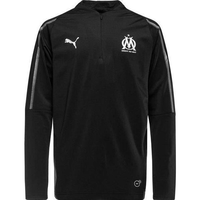 Training top 1/4 zip junior Olympique de Marseille