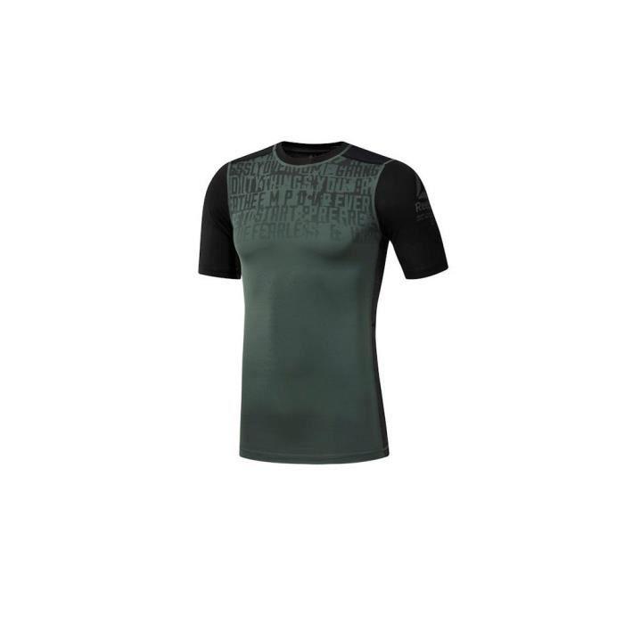 T-Shirt Reebok Activchill Graphic Compression XL