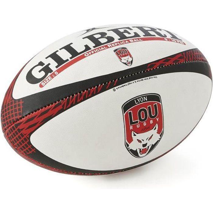 Ballon Gilbert Replica Blason T5 LOU Rugby Officiel Lyon