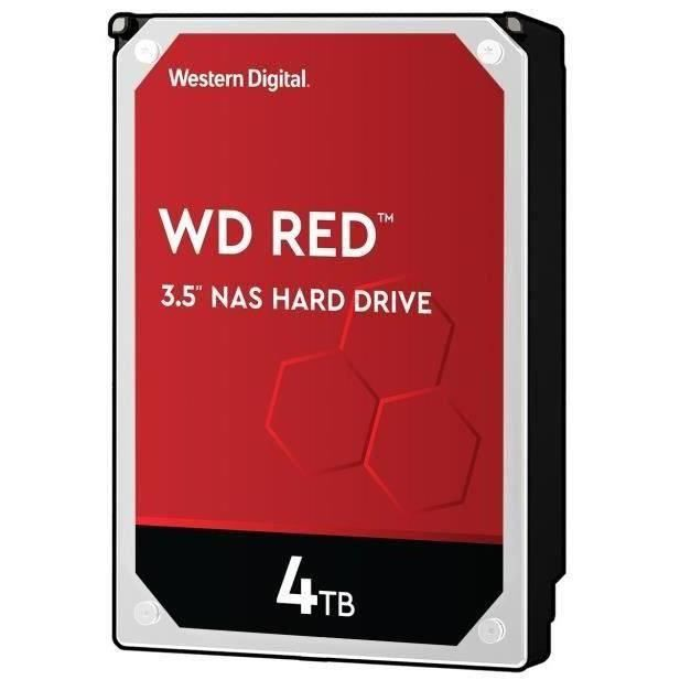 WD Red™ - Disque dur Interne NAS - 4To - 5 400 tr/min - 3.5- (WD40EFAX)