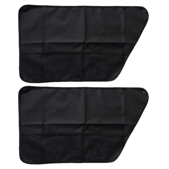 2pcs couverture de porte de véhicule chien voiture personnalisation vehicule - decoration vehicule confort conducteur passager