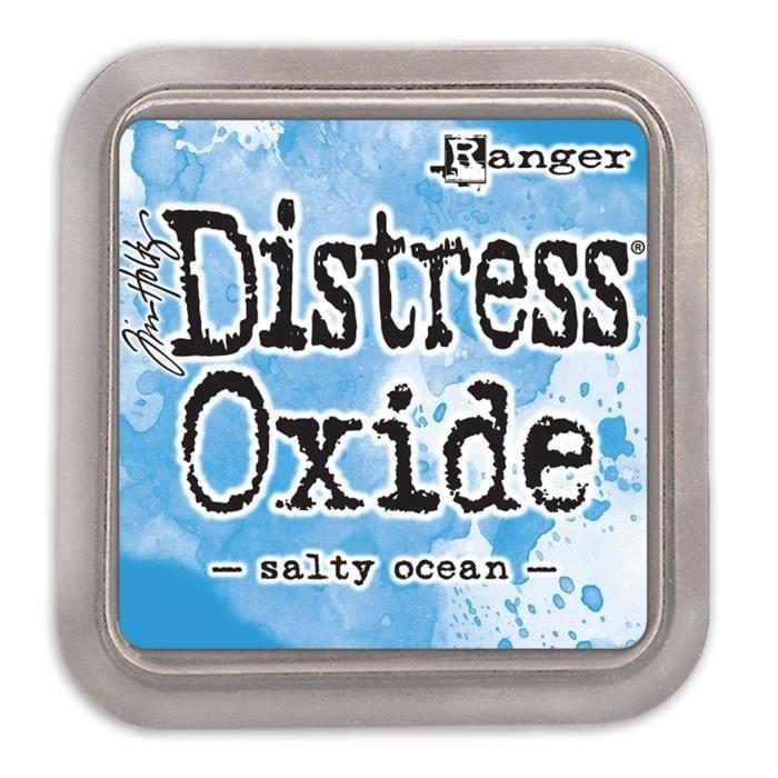 Encreur Distress Oxide de Ranger - Ranger distress oxides:Salty Ocean