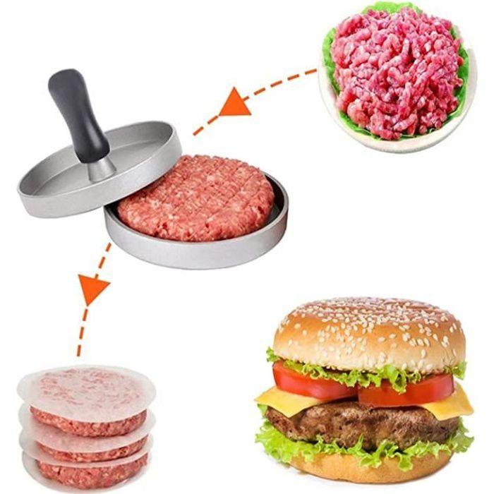 ROCK Presse à Hamburger Moule à Barbecue Presse à Steak haché