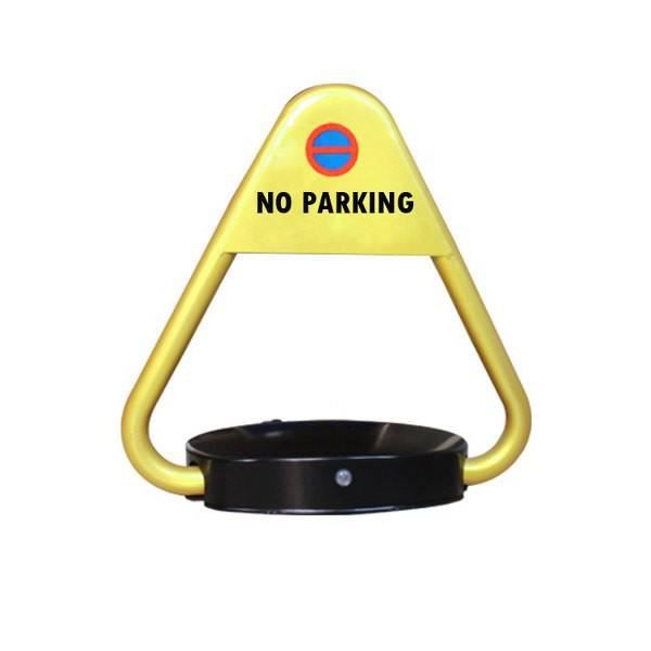 Barrière de parking automatique triangulaire avec 2 émetteurs