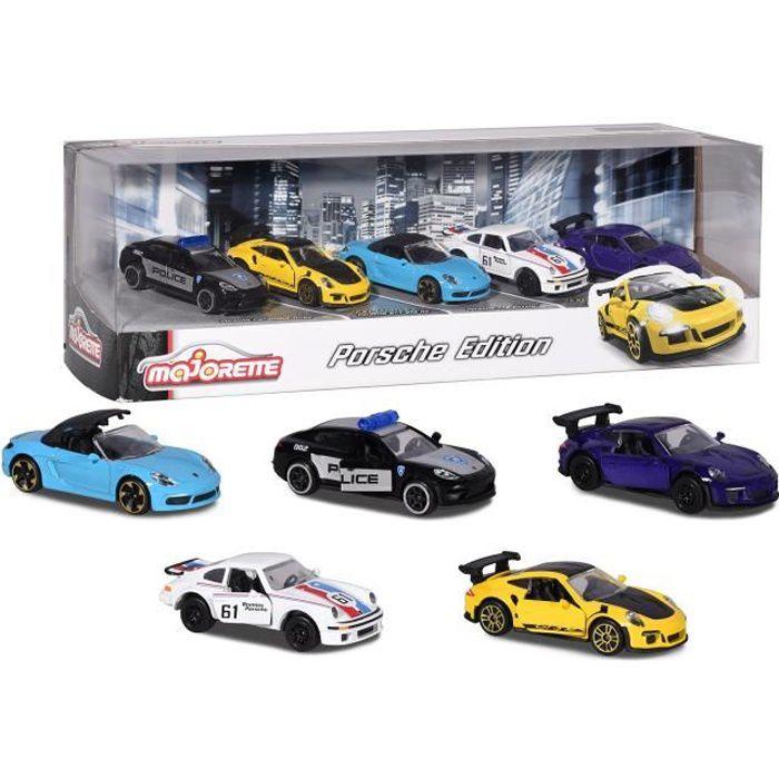 MAJORETTE Porsche 5 pièces en métal Giftpack