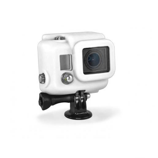 XSORIES Housse en Silicone pour GoPro HD HERO3 - Blanc