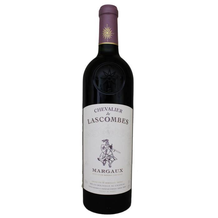 VIN ROUGE Chevalier de Lascombes, 2ème vin de Château Lascom