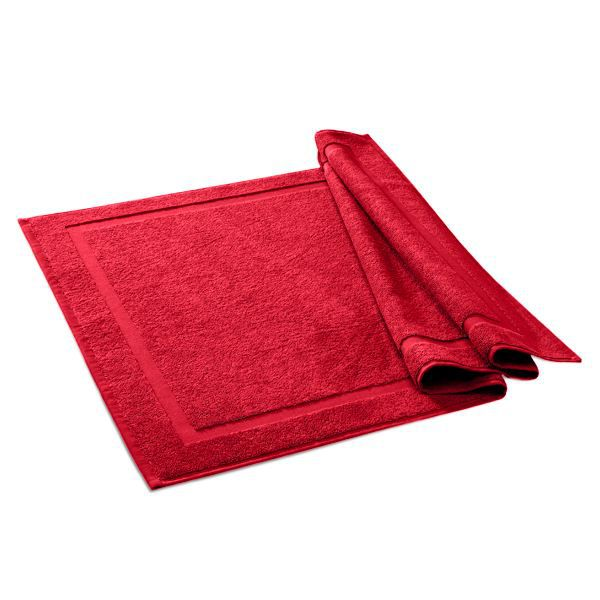 tapis de bain city rouge 60 x 90 cm achat vente tapis de bain cdiscount. Black Bedroom Furniture Sets. Home Design Ideas