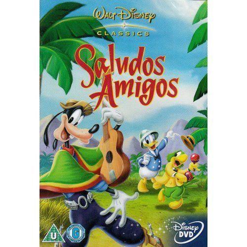 Walt Disney Home Video 5017188885171 Dvd Documentaires Jeunesse Saludos Amigos Import Anglais En Dvd Dessin Anime Pas Cher Cdiscount