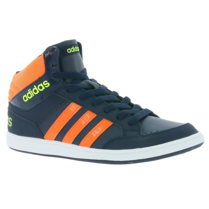 adidas neo noir et orange