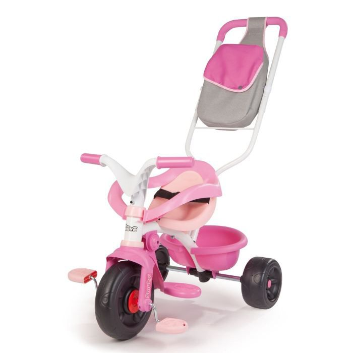 smoby tricycle be move confort fille achat vente tricycle cdiscount. Black Bedroom Furniture Sets. Home Design Ideas