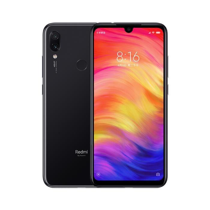 SMARTPHONE XIAOMI Redmi Note 7 noir 64Go
