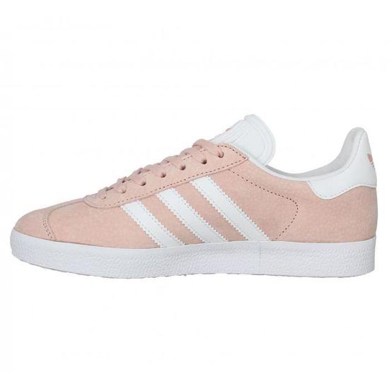 basket femme adidas gazelle rose