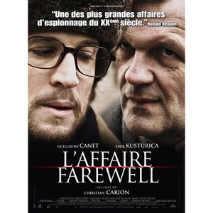 AFFICHE - POSTER L'Affaire Farewell - 2008 - Guillaume Canet - 116x