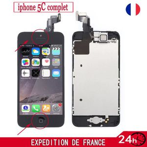 Ecran iphone 5s bouton home achat vente ecran iphone for Photo ecran iphone 5c