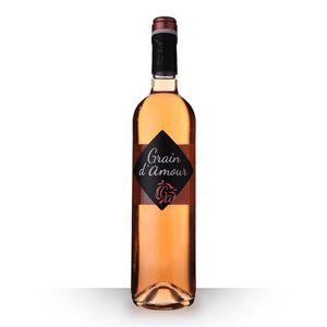 VIN ROSÉ Grain d'Amour Rosé 75cl Vin de France - Vin Rosé