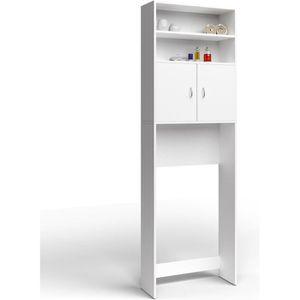 COLONNE - ARMOIRE SDB Meuble de salle de bain - blanc 195x63x20cm - Rang