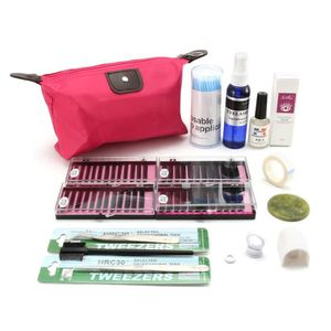 faux cils kit extensions de cils friser semi permanent maqui - Kit Extension Maison Pas Cher