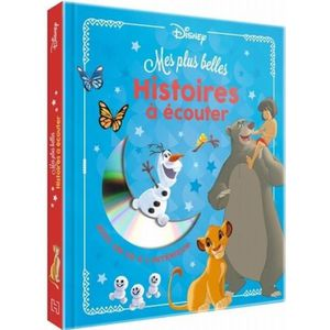 Livre 3-6 ANS Disney - Mes plus belles histoires à ecouter