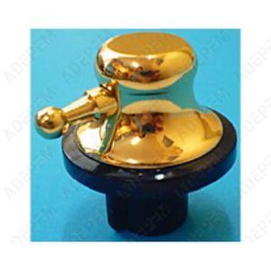CUISINIÈRE - PIANO Bouton dore et noir pour Cuisiniere Beko - 3665392
