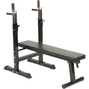 BANC DE MUSCULATION Gorilla Sports Banc de musculation avec support…