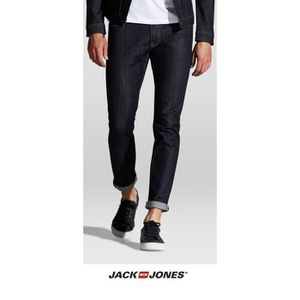 JEANS Jean Jack and Jones coupe slim Glenn Bleu brut 121 c3da85b94574