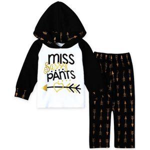 Ensemble de vêtements 1-5 Ans Enfant Bébé Fille Garçon 2 Pcs Ensemble de