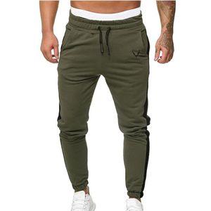 Homme Baggy Loose doublée en polaire pantalon de Hip-Hop Rap Skateboard Pantalon streetwear