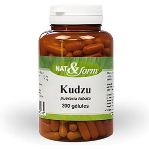 STRESS - SOMMEIL KUDZU RACINE 200 gélules - Nat et Form - Atlant…