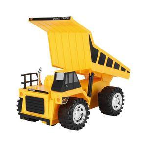 VOITURE - CAMION Excavatrice pelleteuse sur roues camion à benne ba