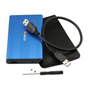 HOUSSE DISQUE DUR EXT. QUMOX USB 3.0 Boîtier externe disque dur 2.5