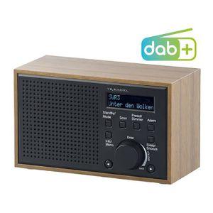 Radio réveil Radio-réveil numérique FM/DAB+ avec écran LCD et b