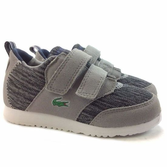 Basket - Lacoste - Light 118 Gris Gris - Achat / Vente basket