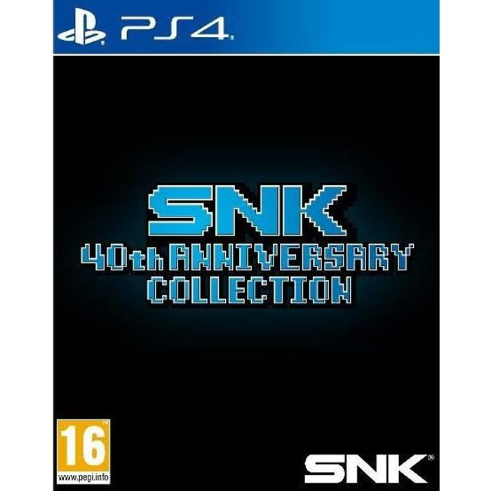SNK 40th Anniversary Collection Jeu PS4