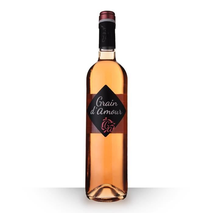 Grain d'Amour Rosé 75cl Vin de France - Vin Rosé