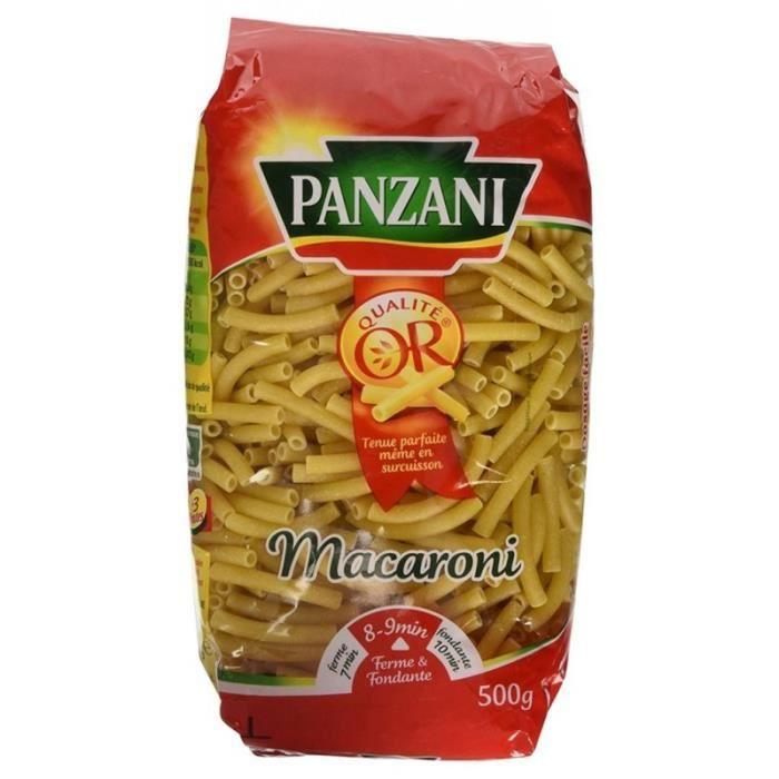Panzani Macaroni 500g (lot de 3)