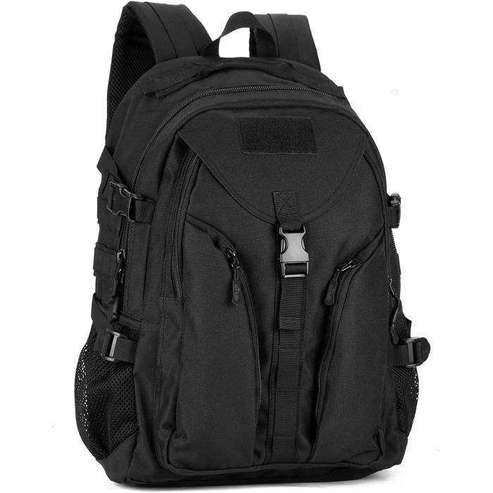 Sacs à dos sports et plein air Yakmoo Sac à Dos Tactique de Grande Capacité Militaire Backpack Imperméable Molle Système 26940