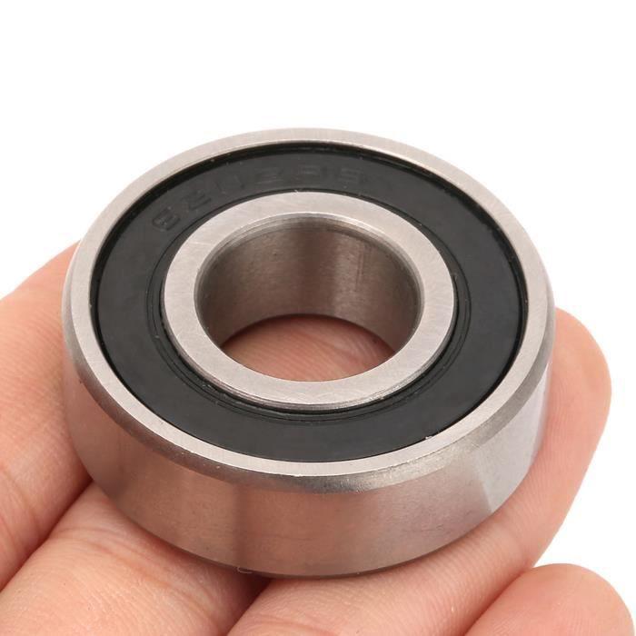 Roulement à billes 6202-RS, roulement à billes à gorge profonde de 15 mm 15 mm 10 pièces en acier à roulement, pour la maison