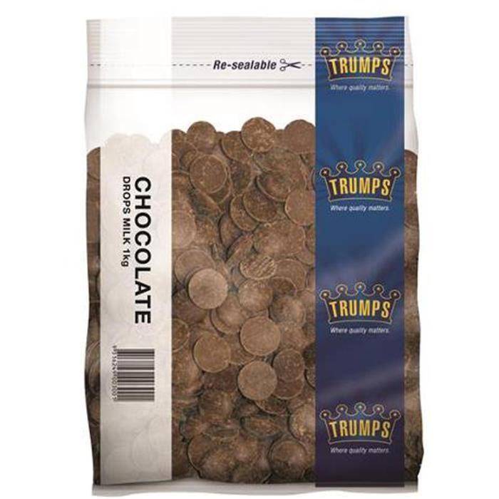 Les atouts de Chocolat au Lait Boutons de 1kg