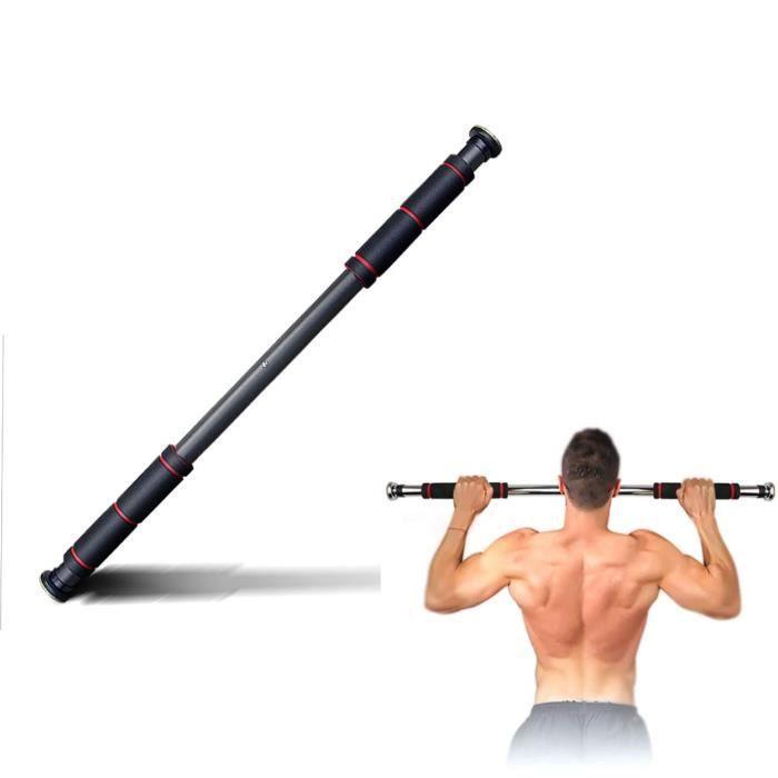 Barre de Traction de Porte Gym Barre Horizontale de Porte de Gym Exercice Fitness