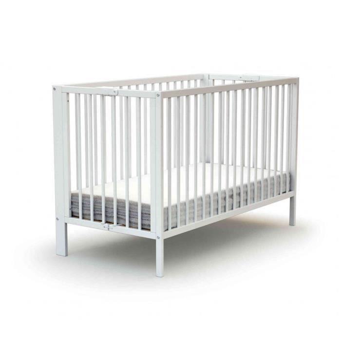 Lit bébé pliant Baby Fox à barreaux coulissant …