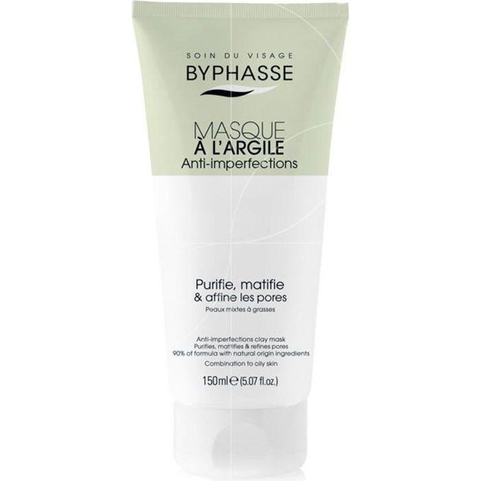 Byphasse - Masque visage à l'argile Anti-imperfections - 150ml
