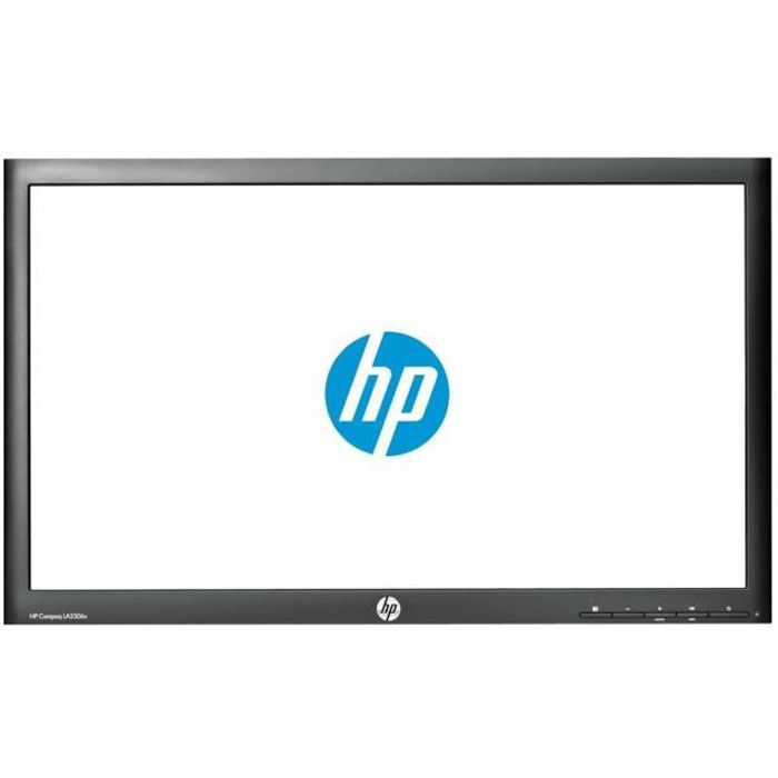 HP Compaq LA2306x Écran LED 23- 1920 x 1080 Full HD (1080p) TN 250 cd-m² 1000:1 5 ms DVI-D, VGA, DisplayPort noir