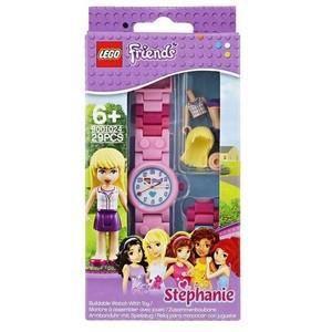 LEGO FRIENDS STEPHANIE - 9001024 - MONTRE ENFANT - QUARTZ ANALOGIQUE - BRACELET PLASTIQUE MULTICOLORE