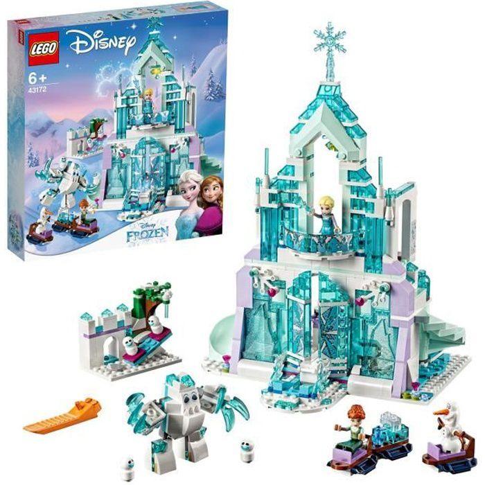 LEGO® Disney La Reine des neiges 43172 Le palais des glaces magique